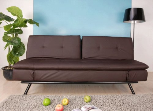 Hot Sale Abbyson Living Quatro Leather Convertible Sofa