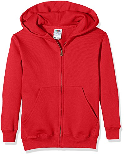 Fruit of the Loom Fruit of The Loomkids Classic Sweat Jacket Cappotto Bambino