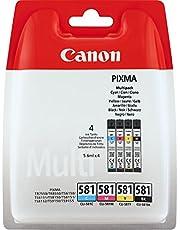 Canon CLI-581 BK/C/M/Y atrament do drukarki Multipack - każdy 5,6ml do drukarki atramentowej PIXMA ORYGINALNY