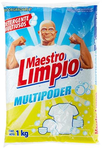 detergente en polvo carisma fabricante Maestro Limpio