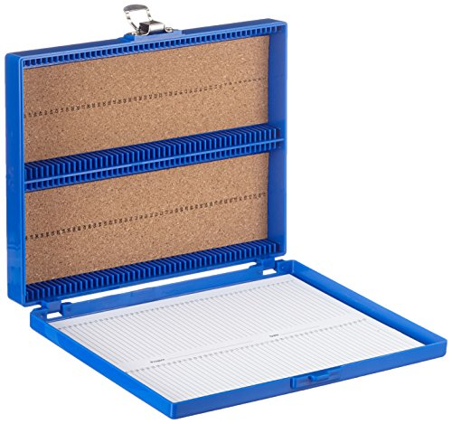 Neolab 2 x 2438 Slide box per 100 OT, PS blu