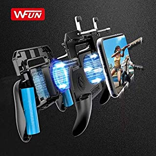 PUBG L1R1 Game Shooter Mobile Phone Gamepad Game Joystick Controller Ultra-Portable Grip Holder With mute heat dissipation...