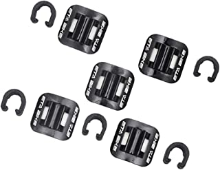 LEIPUPA 5 Sets Brake Cable Line Fixing Clip Mountain Bike Wire Holder