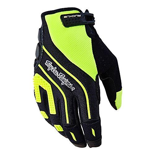 Troy Lee Designs Ruckus Hombres de bicicleta BMX guantes–amarillo fluorescente