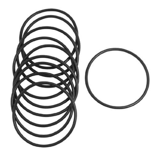 10 Stück 3 mm x 68 mm Gummidichtung Ölfilter O-Ringe Dichtungen Schwarz