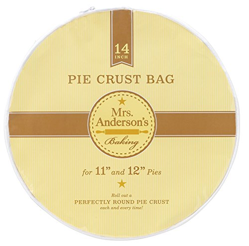 Mrs Anderson Baking Anderson Easy NoMess Pie Crust Maker Bag 14Inches Clear