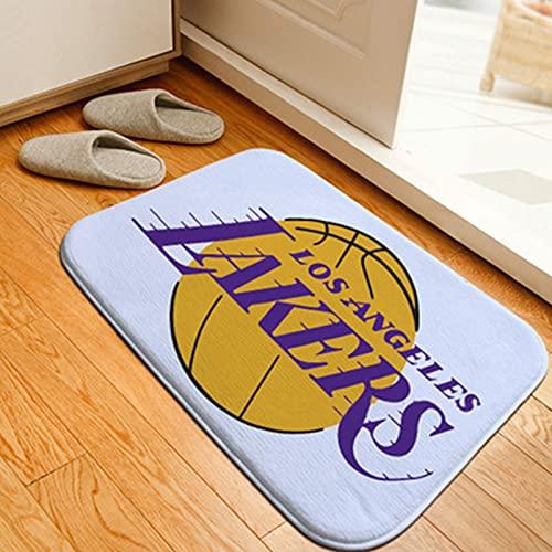 GPUI Alfombra de baloncesto para interiores, color blanco, alfombra de baloncesto, alfombra de salón, dormitorio, mesita de noche, baloncesto, deportes, estrellas, 40 x 120 cm