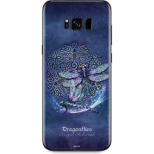 Skinit Decal Phone Skin Compatible with Galaxy S8 - Originally Designed Dragonfly Celtic Knot Design
