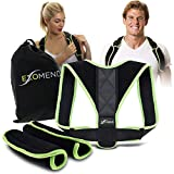 EXOMEND Posture Corrector for Men & Women - Back Support Brace for Upper Back & Neck Pain Relief - Anti-Slouching...