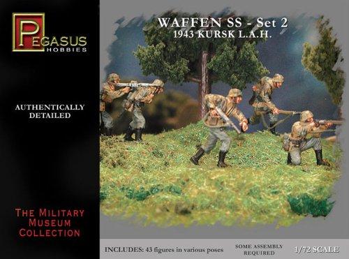 Pegasus PG7202 - 1/72 WW II: Deutsche Waffen Set 2 1943 Kursk L.A.H.