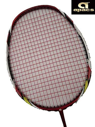 APACS Vanguard 11 Strunged Badminton Racquet-with Full Cover ((Red String))