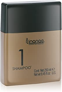 Linange Forte Man Tonic Shampoo 250ml; Clarifying, Hydrating, Cleansing Hair Care Product; Hair Shampoo for Men– Great for Damaged, Stressed Hair, Hair Loss and Dandruff