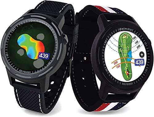 Golf Buddy Aim W10 GPS Watch, Advanced...
