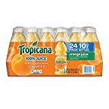 Tropicana 100 % Orange Juice (Pack of 24) 10 Fl Oz, 240 Fluid Ounce