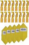 all-around24®, set da 34 pezzi contro insetti nocivi. 16 rotoli di carta moschicida, cattura insetti, trappola per mosche con 18 adesivi gialli per pannelli gialli, prodotto ecologico, atossico
