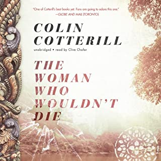 The Woman Who Wouldn't Die audiobook cover art