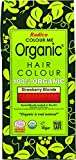 Radico Colour Me Organic Pflanzenhaarfarbe Erdbeerblond Strawberry Blonde Rotblond (bio, vegan,...