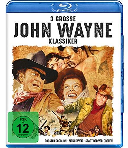 3 große John-Wayne-Klassiker [Blu-ray]