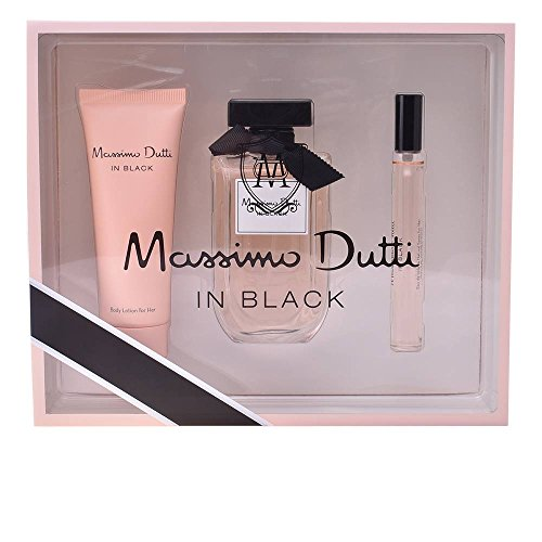 Massimo Dutti In Black Her Set de Regalo - 3 Piezas