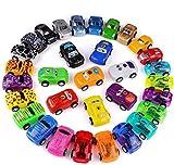 Funmo Coches de Juguete, Camiones de Juguete y Go Mini Coches,Plásticos Educativo Juguete para Niños Coches Modelos ,32 Pack Camiones De Juguete Regalos para bebés 1 2 3 4 años de Edad