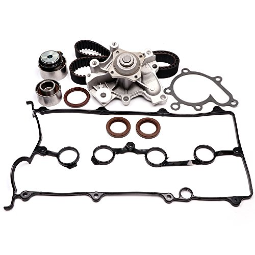 Timing Belt Water Pump Kit, ECCPP Automotive Replacement Timing Parts For 1993-1997 FORD PROBE VIN A MAZDA MX-6 2.0L L4 DOHC 16V ENG.FS