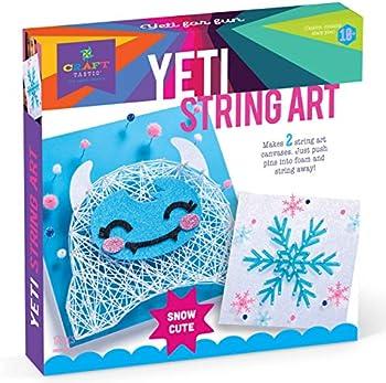 Craft-tastic Yeti & Snowflake String Art Kit