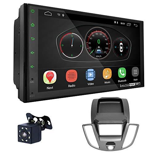 UGAR EX10 7' Android 10.0 DSP Car Radio mit 11-770 Panel Dash Instalación Fascia Kit para Ford Transit 2014+
