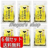 タクセイ 6個セット ふりかけ 川口納豆使用 国産納豆ふりかけ 25g