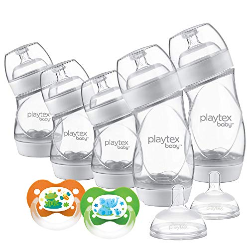 Playtex Baby Ventaire Newborn Gift Set, Includes Anti-Colic Feeding...