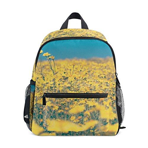 Hermosa mochila para niños florecientes de la escuela de la armadura de la sarga de los niños perfecta para la escuela o el viaje
