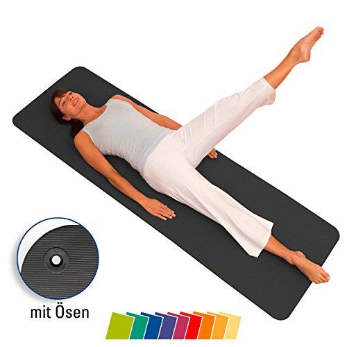 AIREX Matte Fitline 180 mit Ösen Fitness Matte Gymnastik Training Studio schiefe