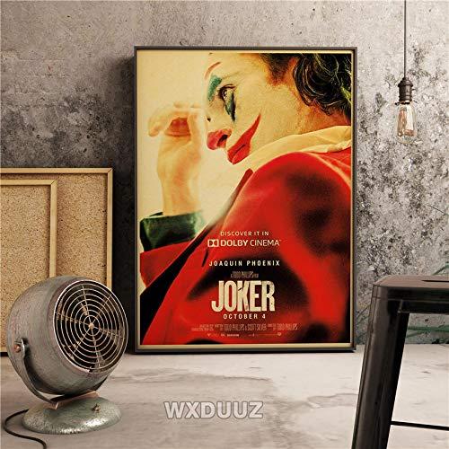 Filmclown Leinwanddrucke Wandkunst dekorative Bild Wohnkultur Wohnzimmer Sofa Wanddekoration60x90cmRahmenlose Malerei