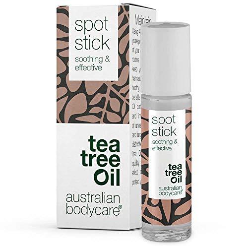 Australian Bodycare Spot Stick | Pickelstift mit Teebaumöl | Tea Tree Oil Anti Pickel Stift | Auch zur Pflege bei Akne | 100{1ea1780fb27dc250d140f41f1be020d5287469a4f762479656f174e95a60b5e1} Vegan | zum Pickel loswerden & nach ausdrücken | 9ml