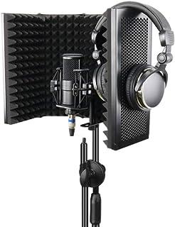 Konesky Escudo de Aislamiento de Micrófono, Reflector de