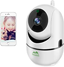 1080P HD WiFi IP Camera,Dome Home Security Surveillance Wireless Camera Pet Camera with Cloud Storage Two Way Audio Remote Viewing Pan/Tilt/Zoom Night Vision Motion Detect for Home/Shop/Office