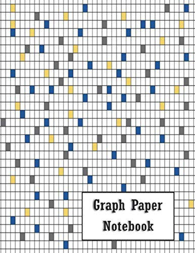 Graph Paper Notebook: Grid Composition Notebook for Math & Science Students, Architects & any Drawing Activities. 120 Blank Quad Ruled (5 Squares Per ... Matte Cover & Professional Paperback Binding.