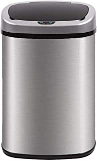 Kitchen Trash Can For Bathroom Bedroom Home Office Automatic Touch Free  High Capacity Garbage Can