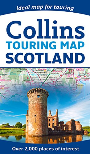 SCOTLAND TOURING MAP NEW EDITI