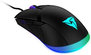 thunderx3 am7hex – mysz gamingowa (8 efektów świetlnych, przełącznik OMROM, 12000 dpi, nóżki z teflonu, oprogramowanie Hex...
