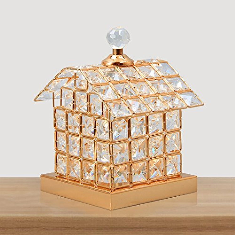 Xiao ping Schreibtischlampe Moderne minimalistische Wohnzimmer Studie Nachttischlampe Kristall Lampe Gold 21  14cm Nachtlicht