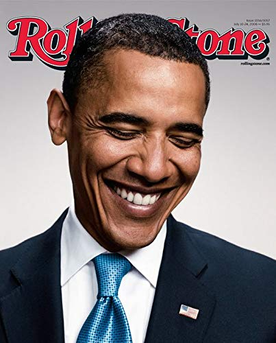 Rolling Stone Magazine Cover Poster – Barack Obama - U.S Imported MU.Sic Wall Poster Print - 43cm x 61cm / 17 Inches x 24 Inches A2