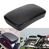 BRAUTO Motorrad Sozius Sitzpad mit 6 Saugnapf Kissen Sofa Beifahrer Sitz für Harley Motorrad Dyna Sportster