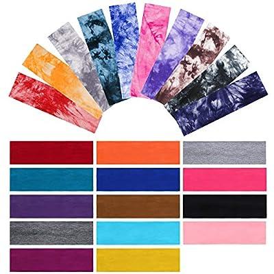 24 Stück Batik-Stirnbänder Boho