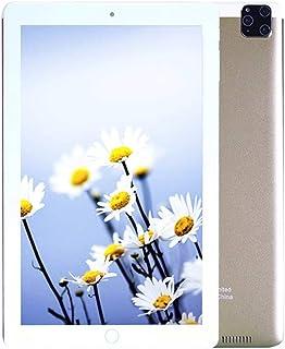 C idea Cm3000+ 10 inch Tablet,Face Unlock,Dual Sim,Quad Core,4GB Ram,64GB,Wifi,4G Lite (Golden)+Power Bank