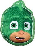 PJ Masks Soft Fur Shaped Pillow Cushion Gekko