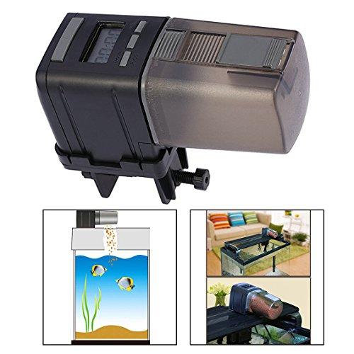Itian Automatische vis voederautomaat met LCD-display voor vissen aquarium