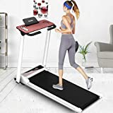 Smart Digital Folding Treadmill - Electric Foldable Exercise Fitness Machine, Small Running Surface, Home Gym Workout Fitness