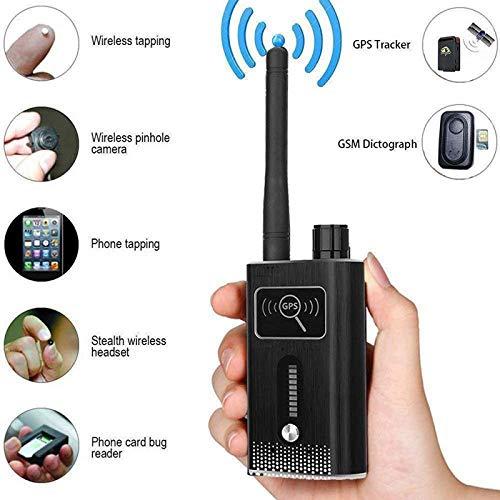 JSX Detector De Señal De RF, Cámaras En Miniatura Ocultos Cámara Espía Espionaje Cámara Espía Cámara Oculta Tracker GPS