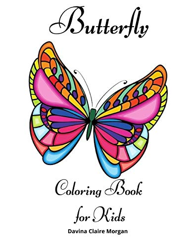 Butterfly Coloring Book for Kids: Coloring and Activity Book for Girls & Boys Ages 4-10