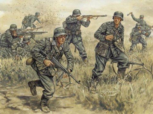 Italeri 510006033 - 1:72 Deutsche Infanterie
